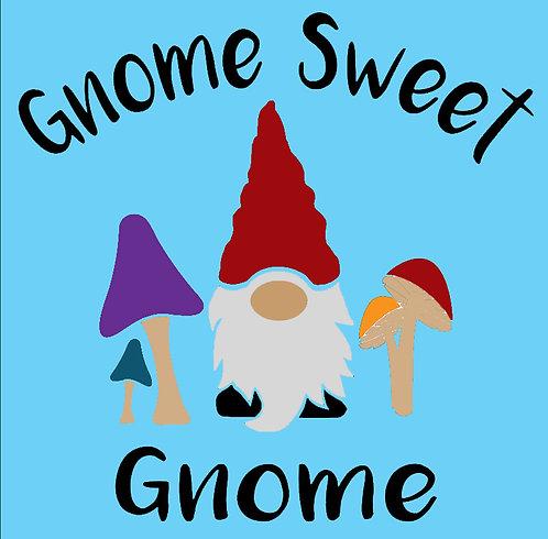 Gnome Sweet Gnome Board Art