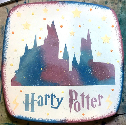 Harry Potter Castle Plate