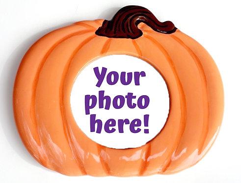 Pumpkin Picture Frame