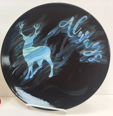 Harry Potter: Always Stag Plate