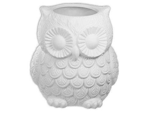 Owl Jar Huge