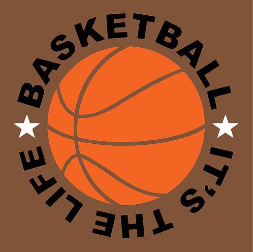 Basketball Life Board Art