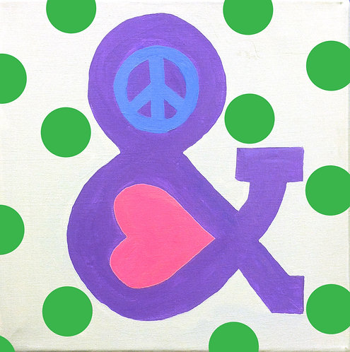 Peace & Love Canvas