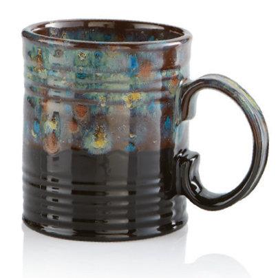 Specialty Glazed Tin Cup #17