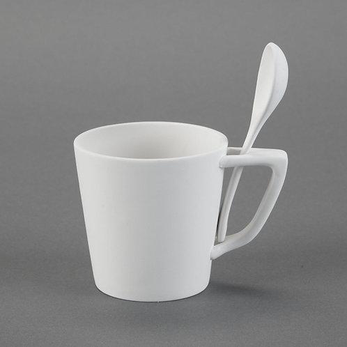 Snack Mug with Spoon
