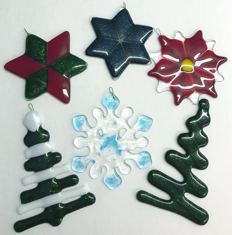 Funky Xmas Ornaments