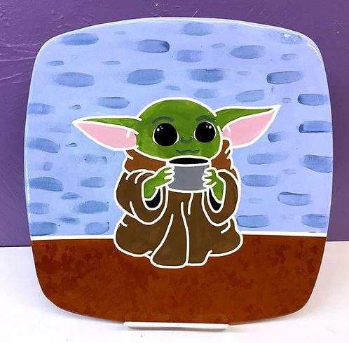 Star Wars: Baby Yoda Plate