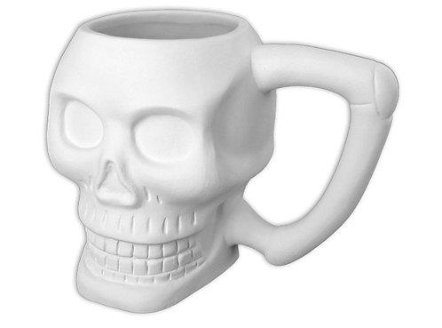 Large Skull Mug