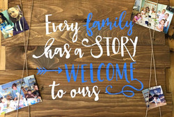 Every family has a story...