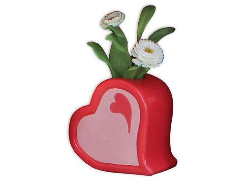 Sideways Heart Vase