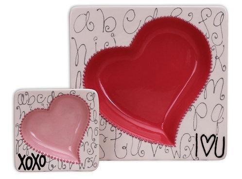 Heart Insert Plate