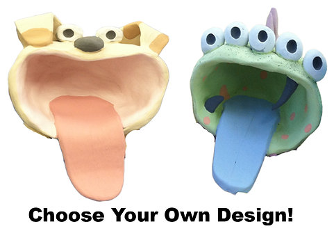 Big Mouth Creature Air Dry Clay