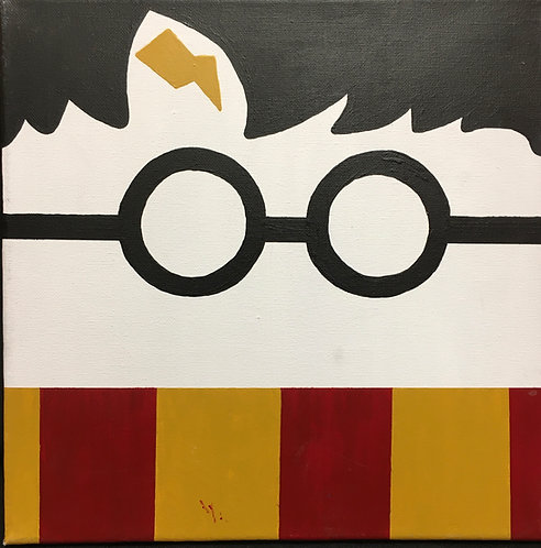Harry Potter Face Canvas