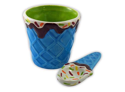 Ice Cream Bowl w/ Spoon