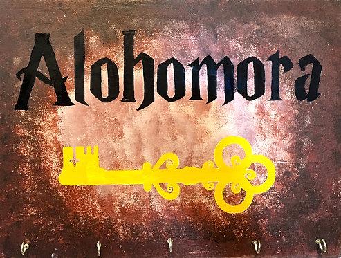 Alohomora Key Holder Board Art