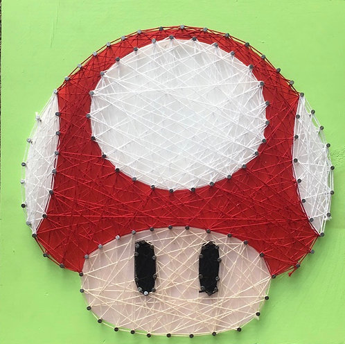 Toad String Art