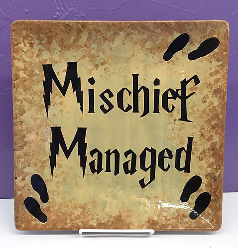 Harry Potter: Mischief Managed Plate