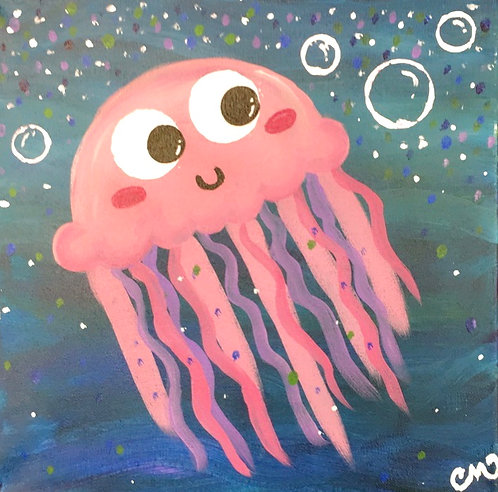Jellyfish Canvas