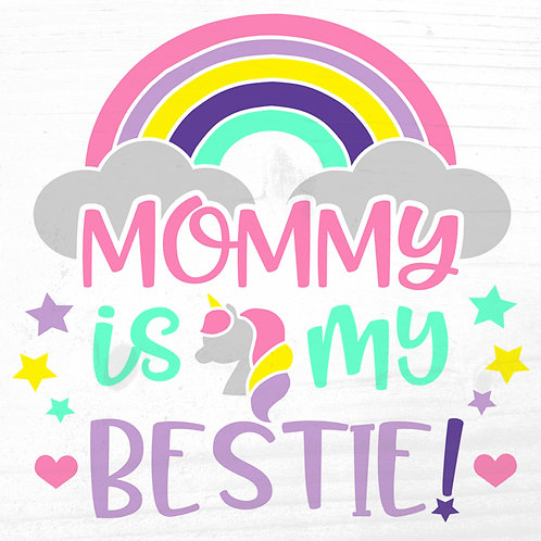 Board Art: Mommy is my Bestie