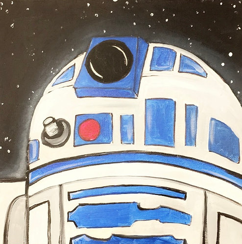 R2D2 Canvas