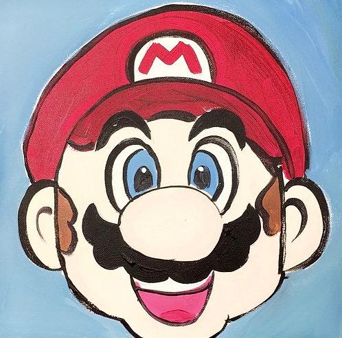 Mario Canvas
