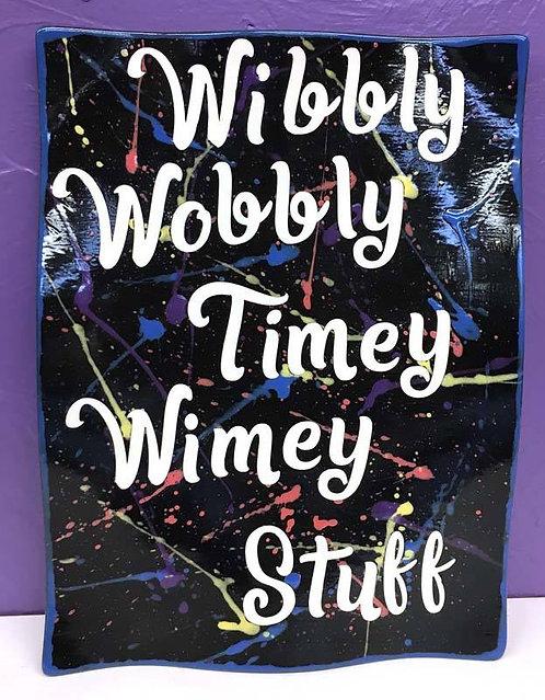 Doctor Who:Wibbly Wobbly Timey Wimey