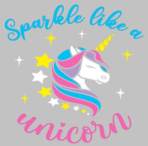 Sparkle Like a Unicorn Board Art