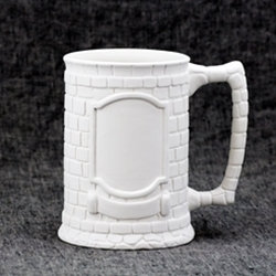 Stein Crested Mug