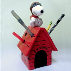 Snoopy Flying Ace Pencil Holder