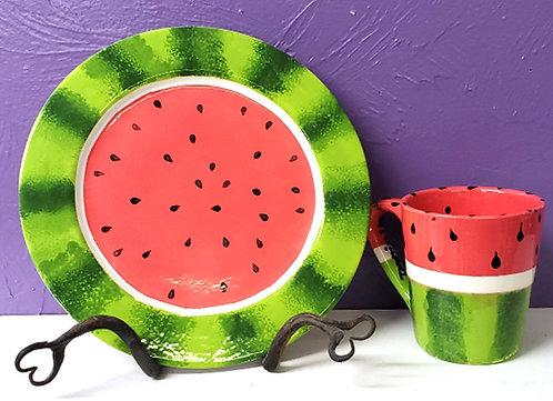 Watermelon Dinnerware