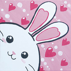 Love Bunny Canvas