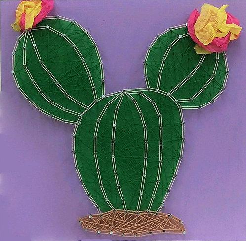 Cactus String Art