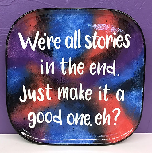 Doctor Who: We're all stories... Plate