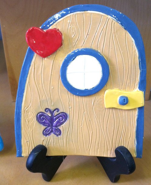 Fairy Door Air Dry Clay