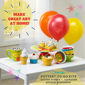 Gare Image Gallery - Pottery To Go Kits