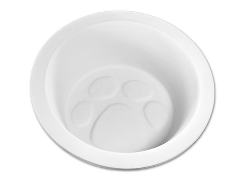 Paw Print Pet Dish