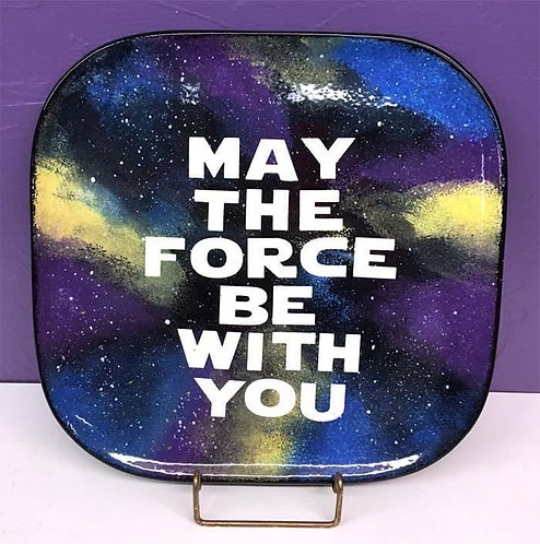 Star Wars: May The Force Plate