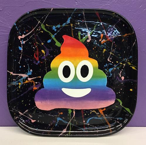 Poop Emoji Plate