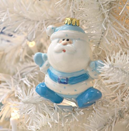 3D Santa Ornament
