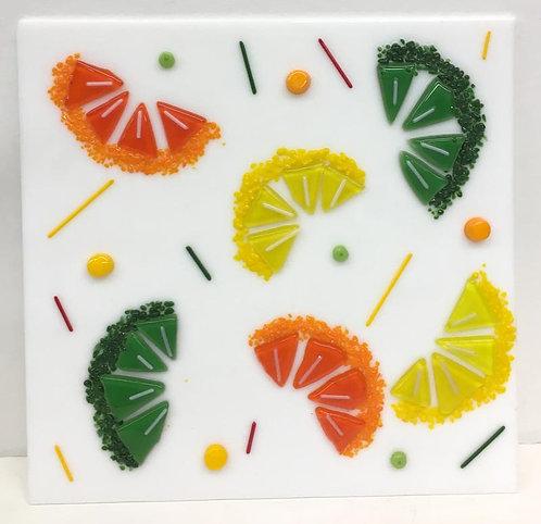 Square Fruit Glass