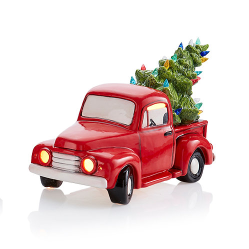 Light-up Truck with Tree