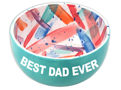 Bowl w/ Father's Day Stickers