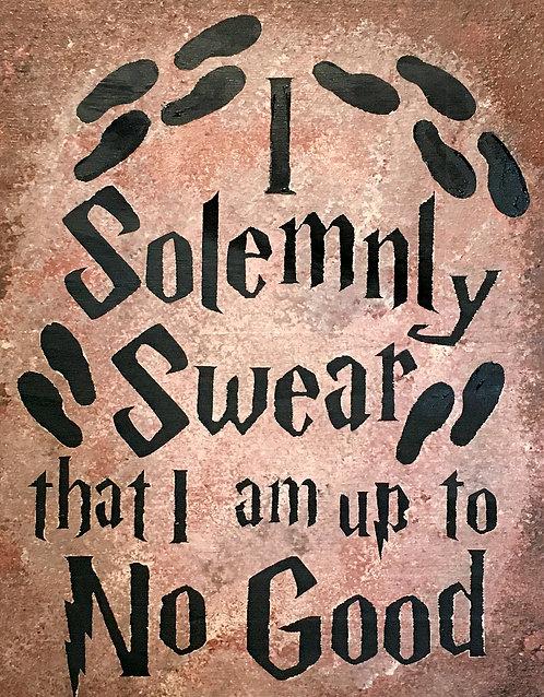 I Solemnly Swear Board Art