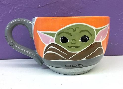 Star Wars: Baby Yoda Soup Mug