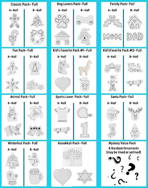 Ornament Packs 2020
