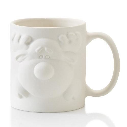 Reindeer Front and Back Mug