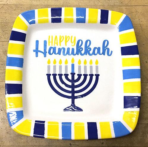 Happy Hanukkah Platter