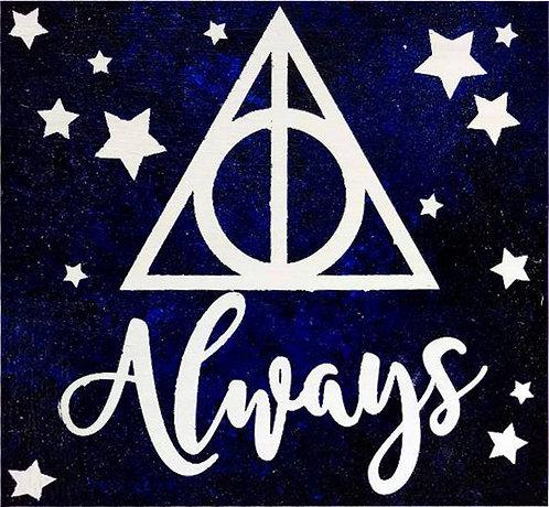 Harry Potter Always Board Art