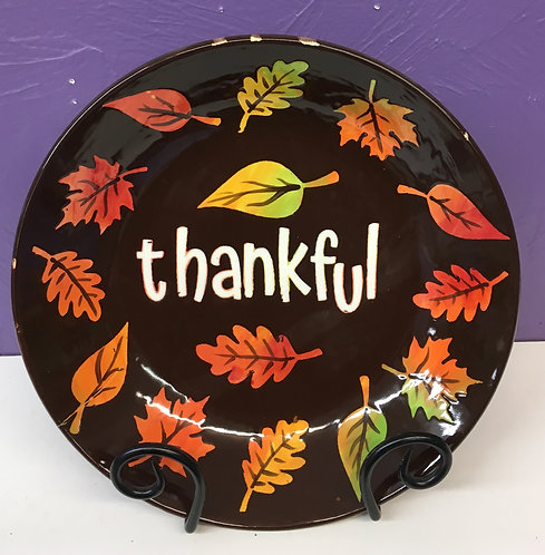 Thankful Shallow Bowl