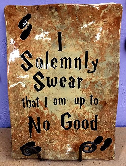 Harry Potter: Large Solemnly Swear Platter